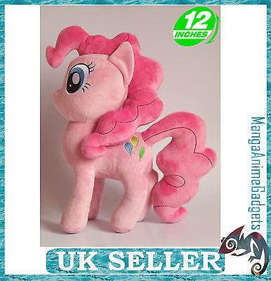 "Pinkie Pie plush 12""/30 cm My Little Pony plush 12""/30 cm  UK Stock High Quality"