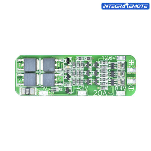 20A 12.6V 3S 18650 Li-ion Lithium Battery Charger BMS PCB Protection Board Cell