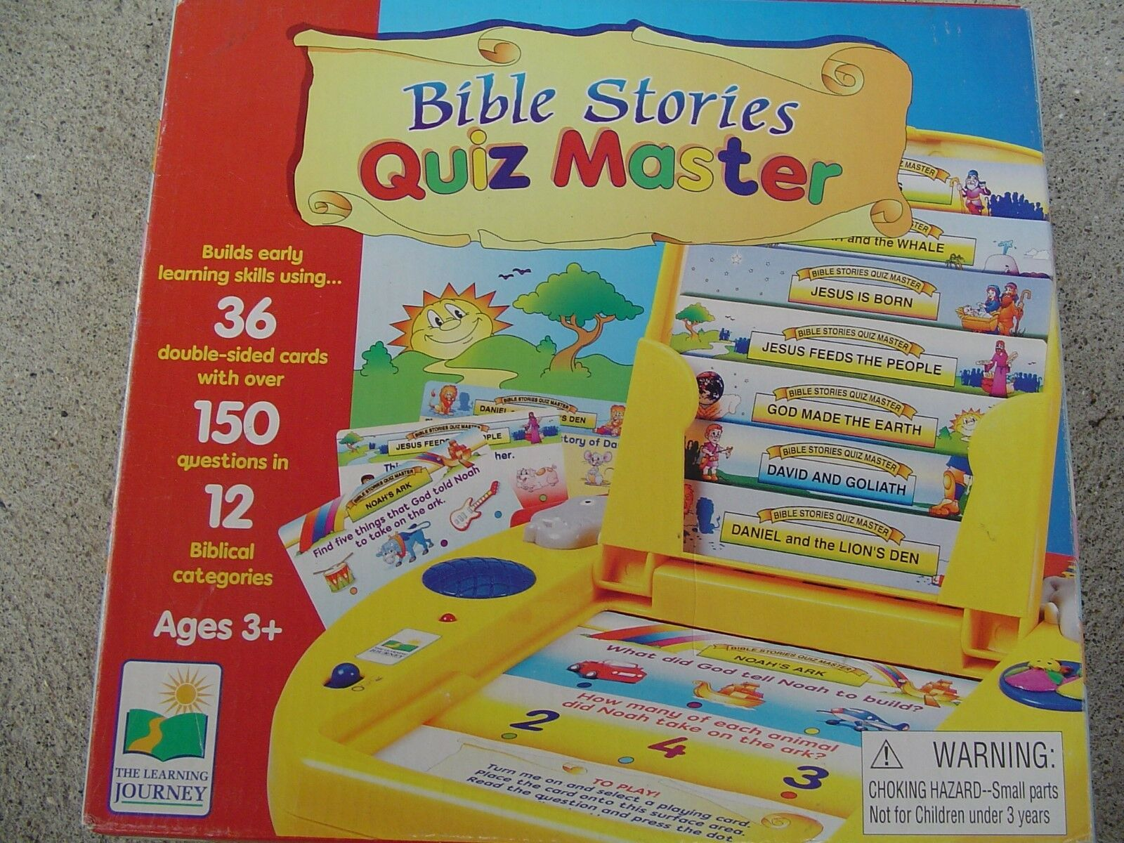 THE LEARNING JOURNEY INTERNATIONAL BIBLE STORIES QUIZ MASTER