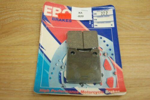 EBC fa222 Suzuki RF 900 R brake pads//pastillas de freno xa820