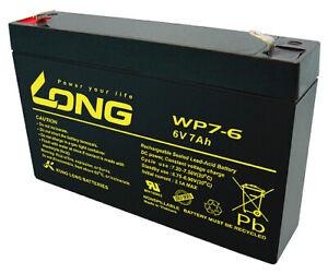 Agressif Batterie Compatible 3-fm-7 20hr 3 Fm 7 3fm7 6 V 7ah Agm Plomb Comme 7,0ah 7,2ah-afficher Le Titre D'origine