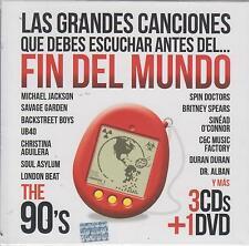 CD - Las Grandes Canciones NEW Fin Del Mundo Los 90's 4 CD's FAST SHIPPING !