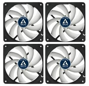 4-x-Pack-of-Arctic-Cooling-F12-PWM-120mm-12cm-PC-Case-Fan-4-Pin-PWM-53CFM