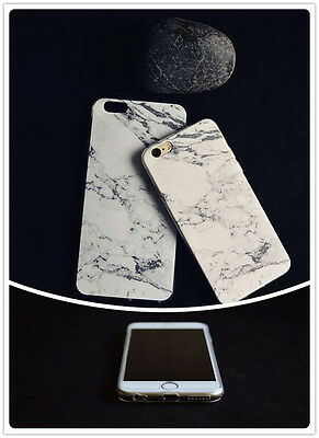 Retro Granite Marble Pattern Soft TPU Phone Case Cover for iPhone 5 6 PLUS