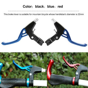 2 PCS of Lightweight ALLOY Brake Levers 3-finger Bike Bicycle BMX