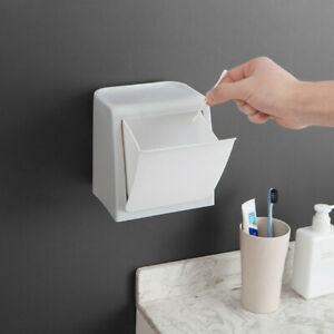 Details About Wall Mounted Trash Cans Bathroom Gl Door Stickers Can