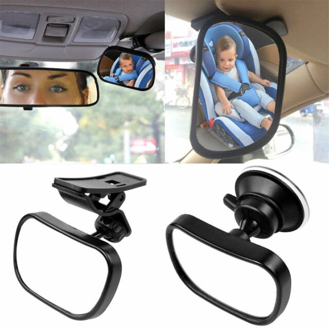 2 Site Car Baby Back Seat Rear View Mirror for Infant Child Toddler Safety WYC