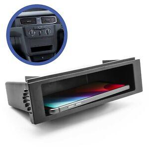 Auto-KFZ-Radioblende-Universell-1-DIN-Ablagefach-Radioschacht-Blindschacht-Fach