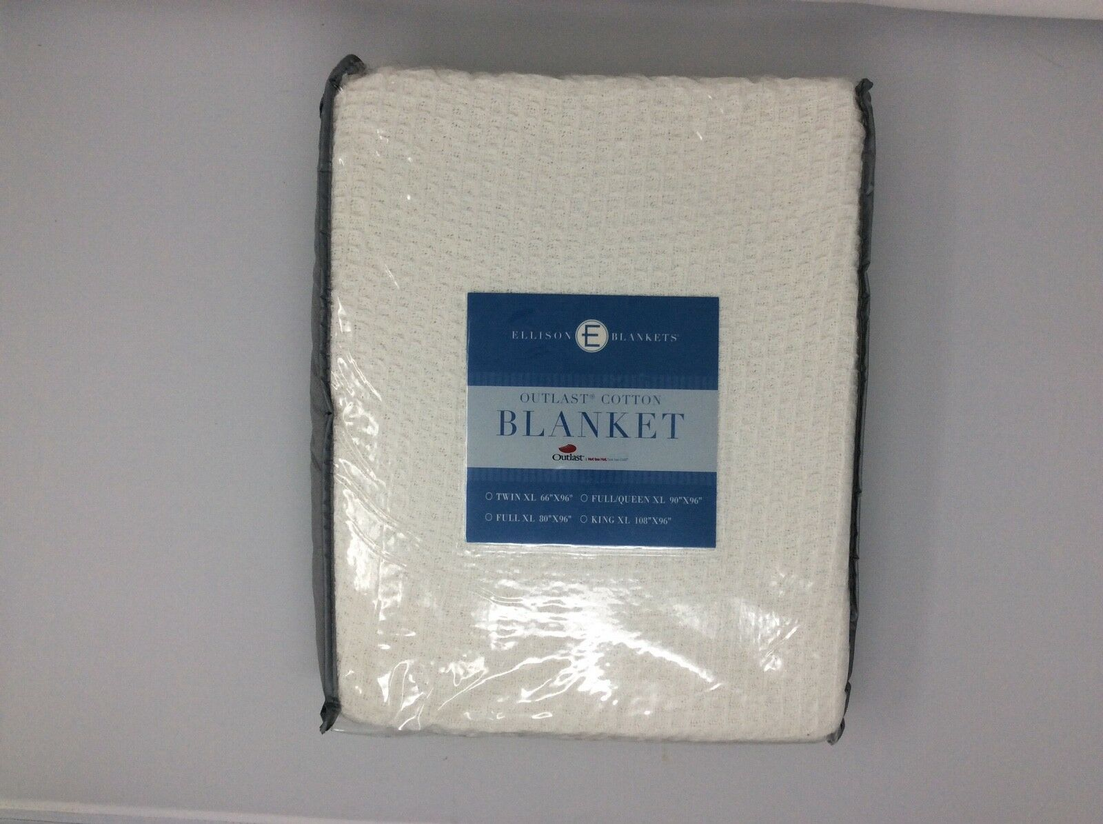 NASA Temperature Regulating Outlast and Cotton Blanket Twin bianca