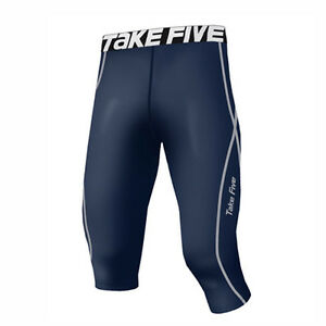 Take Five Mens Skin Tight Compression Base Layer Running Pants Leggings NT501