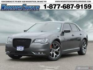 2015 Chrysler 300 300 S LEATHER | HEATED SEATS | REMOTE START | 20 W