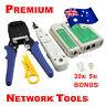 Lan Network Cable Tester Crimper Punch Down Tool Stripper Kit CAT5 CAT6 RJ45