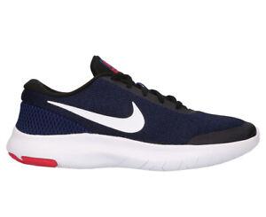 Details about Nike Women's Flex Experience Run 7 Shoe BlackWhite Deep Royal Blue M375