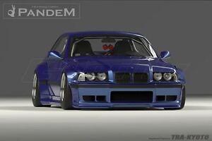 Details about BMW E36 Pandem Rocket Bunny Style Full Kit Fiber Glass Wide  Body Kit