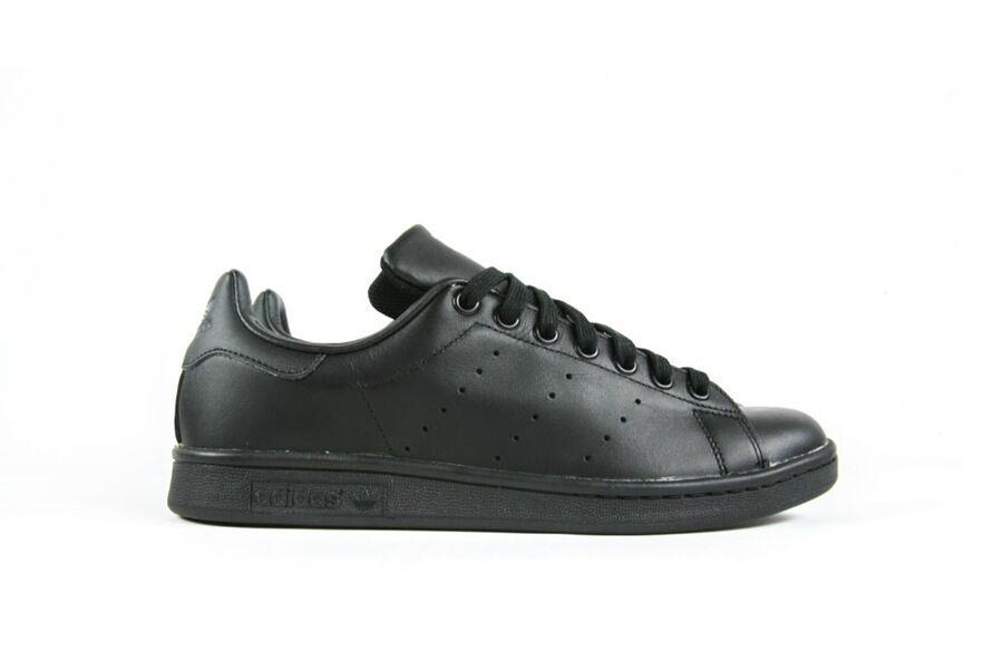 Adidas originali uomini m20327 stan smith scarpe nere m20327 uomini un 7fb745