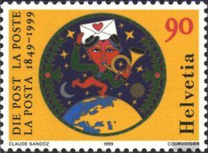Schweiz-1672-kompl-Ausg-gestempelt-1999-Schweizerische-Post