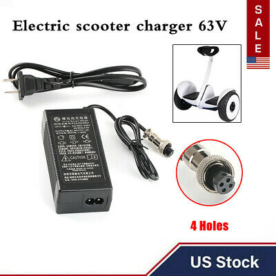 63V 1A Power Adapter PowerFast Electric Scooter Battery Charger for Seway/&Ninebot Equipment