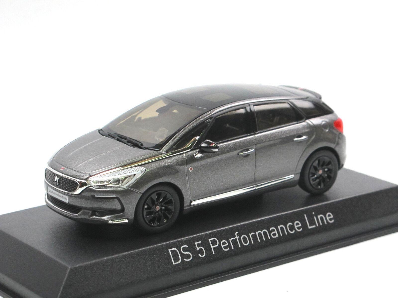 Norev 155576 - 2016 Citroen DS 5 Performance Line - Platinium grau - 1 43 NEU    Elegante und robuste Verpackung