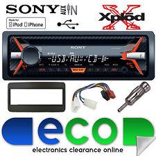 Toyota Celica 00-05 Sony G1100U CD MP3 USB Aux Iphone Car Radio Stereo Kit BLACK