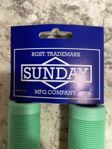 Cornerstone Grips Sunday BMX Grips Toothpaste Lime Bmx Culp Primo Odyssey
