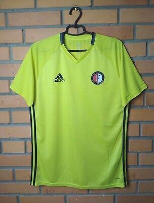 Feyenoord Rotterdam Training Adizero Player Issue football size L jersey Adidas | eBay