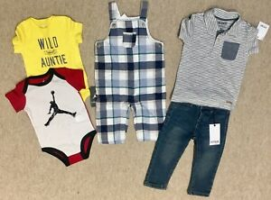 87658d9f8 Bundle of Designer Baby Boy Clothes: Janie And Jack, Hudson, Carters ...