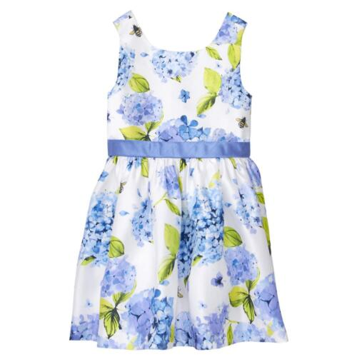 NWT Gymboree Dressed Up Floral Duppioni Dress Toddler Girls Easter Wedding