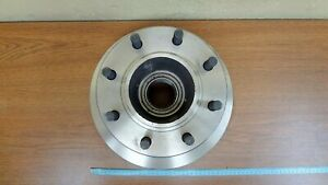 Disc Brake Rotor and Hub Assembly Front IAP Dura BR5404
