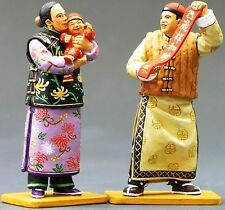 KING & COUNTRY THE STREETS OF OLD HONG KONG HK130M MAN HOLDING LUCKY SIGN MIB