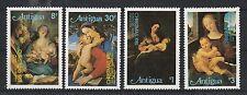 v431 Antigua/ Gemälde-Weihnachten   MiNr 649/52 **