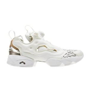 1cbdd9fcd New Womens Reebok INSTAPUMP FURY Cut Out BEIGE   GOLD CM9817 US 5.5 ...