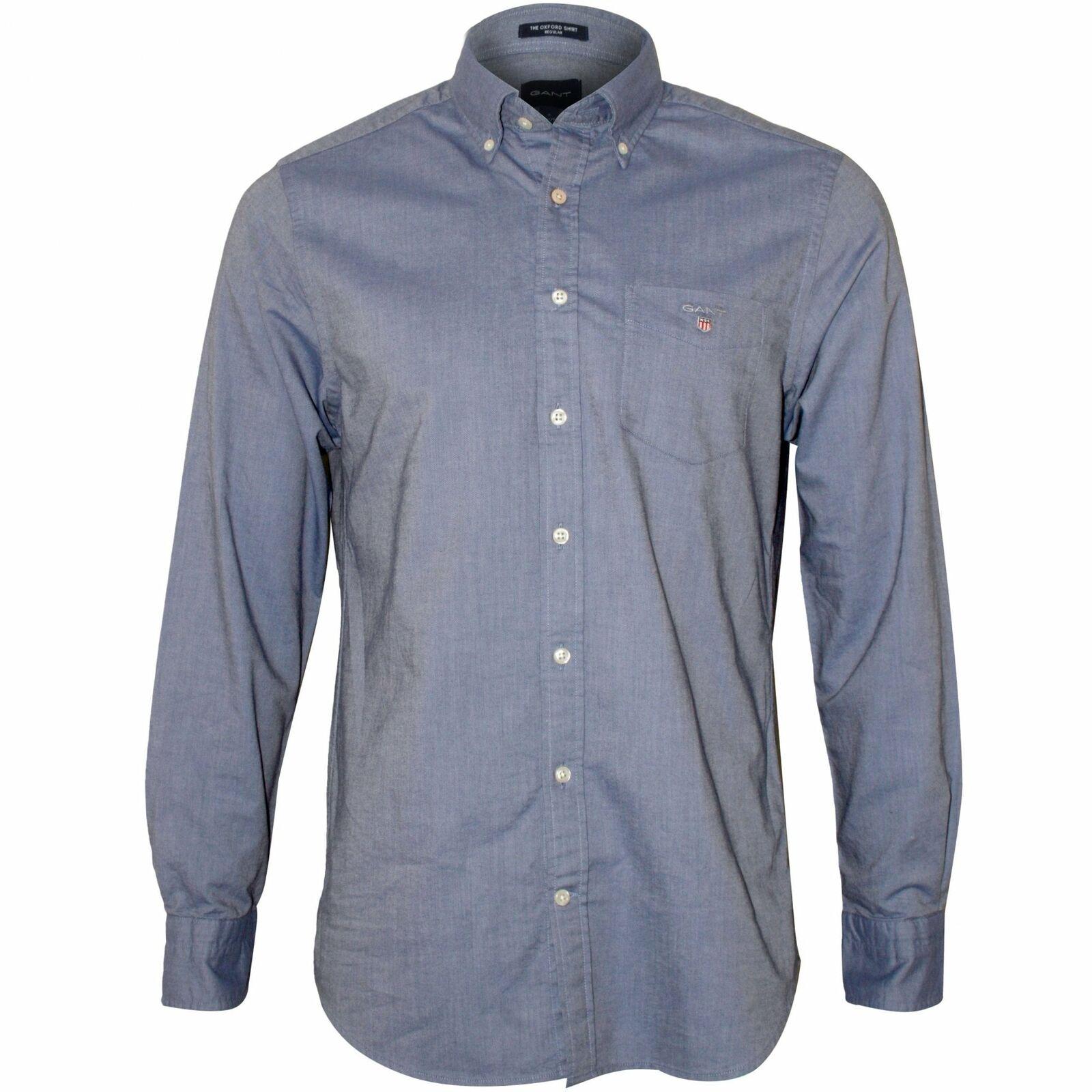 a1716c1aee Camicia Oxford regular fit uomo Gant, blu blu blu persiano 9a7618 ...