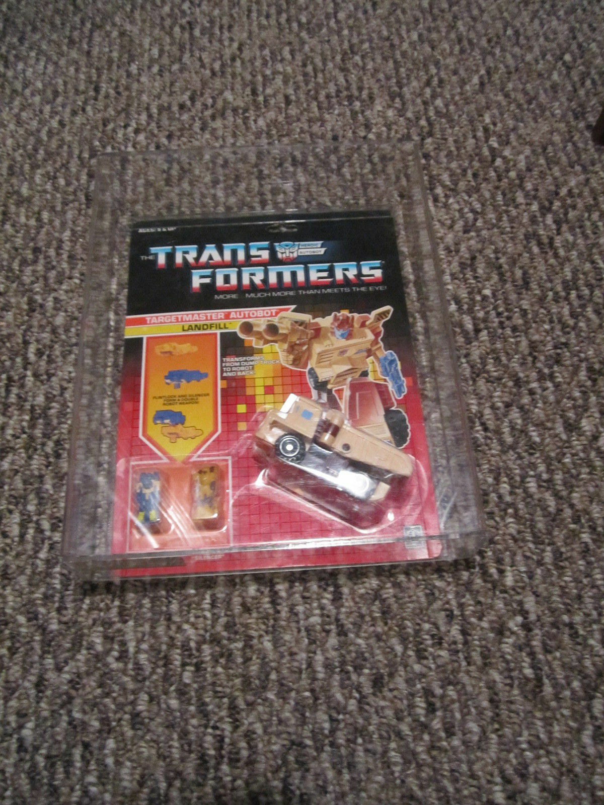 G1 Transformers 1988 Targetmaster décharge MOSC AFA 80 80 80 90 complete MOC