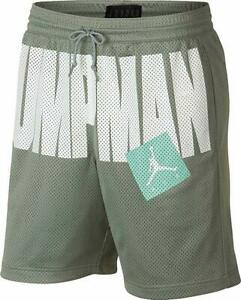 68f0814b208 Nike Jordan Jumpman Mesh Mica Green Men's Basketball Shorts Size XL ...
