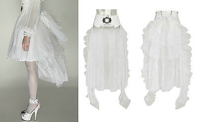 Punk Rave Gothic Rock Gürtel Tornüre Hochzeit Victorian Belt Tulle Skirt Q287