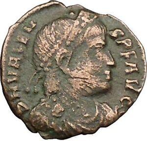 VALENS-034-Last-True-Roman-034-367AD-Ancient-Roman-Coin-Victory-Cult-Angel-i39408