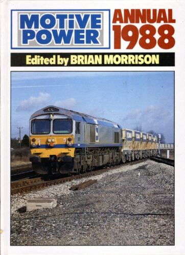 1 of 1 - MOTIVE POWER ANNUAL 1988 Railway Fen Country London Underground DLR Skegness