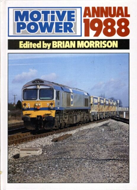 MOTIVE POWER ANNUAL 1988 Railway Fen Country London Underground DLR Skegness