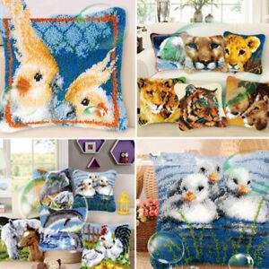 Animals Cushion Cover Making Kits Latch