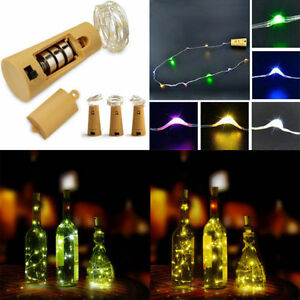 LED-Verre-Bouteille-etoile-Fee-Lumiere-Lampe-Jardin-Patio-Table-Retro-Noel-Decor
