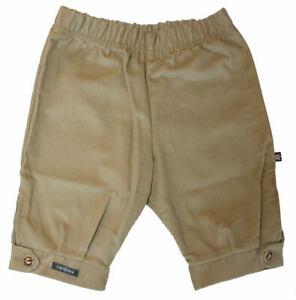 Baby Jungen Trachten-Cord-Schlupfhose in beige Gr CARLINA 62 68 74 80