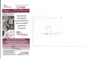 BREWERS-Prince-Fielder-signed-3x5-index-card-JSA-COA-AUTO-Rookie-Autograph-2005