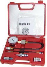 Gasoline Compression Check Tester Set Auto Engine Motor Dial Gauge 0 300 Psi