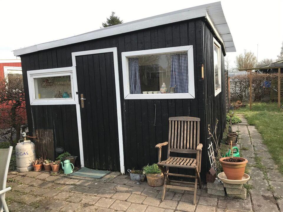 Kolonihave med sødt lille hus i Kalundborg
