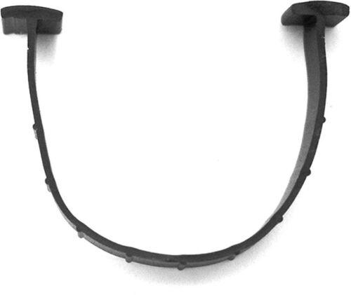 Garage Door Seal Bottom 20 ft T-Ends Durable PVC Insert Forms U-Shape 1//4 in