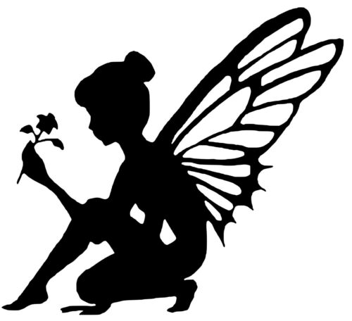 Details about  /Fairy Vinyl Decal 12 Colours 3 Sizes Wall Phone Laptop Window Sticker