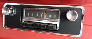 1965-1966-Mustang-Radio-Repair-Plate-for-Dash-Hole-No-Welding
