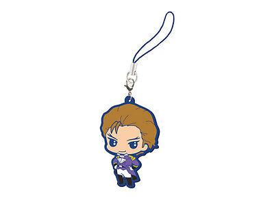 Gundam Wing Mascot Swing PVC Keychain Strap Charm SD Treize Khushrenada @9275
