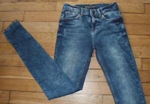 BERSHKA-Jeans-pour-Femme-W-24-L-30-Taille-Fr-34-Ref-J032