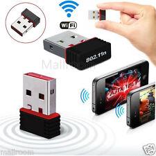 Noir Sans fil 150Mbps Adaptateur USB WiFi 802.11n 150M Réseau Lan Carte